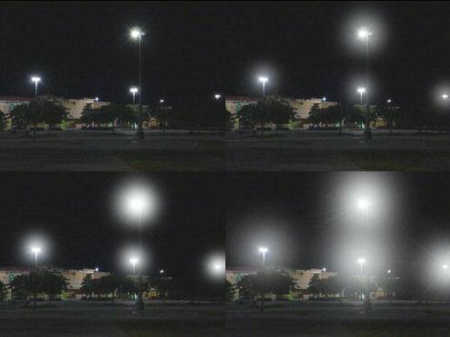 Halos, bright circles around lights, glaucoma, hazy vision